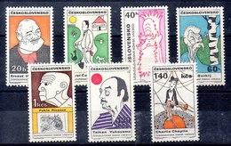 Serie De Checoslovaquia N ºYvert 1679/85 (**) - Tschechoslowakei/CSSR