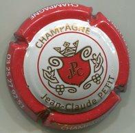 CAPSULE-CHAMPAGNE PETIT Jean-Claude N°05 Contour Rouge, Grand écusson - Other