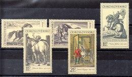 Serie De Checoslovaquia Nº Yvert 1717/21 (**) - Tschechoslowakei/CSSR