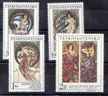 Serie De Checoslovaquia N ºYvert 1731/34 (**) - Tschechoslowakei/CSSR