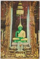 Pakistan  The Image Of The Emerald Buddha, Under The Rainy Season Attire - Pakistan