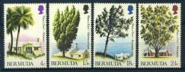 Bermudes 1973 Mi. 287-290 Neuf ** 100% Arbres - Bermuda