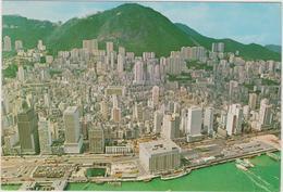 Chine    Bird'seye View Of Whole Of Hong Kong 's Central District - China (Hong Kong)