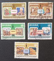 Ghana 1985 UNCTAD,20th. Anniv. USED - Ghana (1957-...)