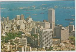 Chine  Hong Kong   Bird'seye View Of Whole Of Hong Kong 's Central District - China (Hong Kong)
