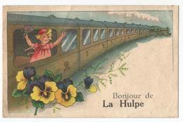 La Hulpe Carte Humoristique Bonjour De Carte Postale Ancienne - La Hulpe