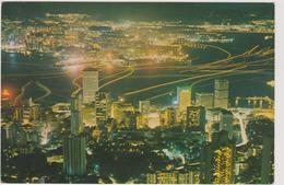 Chine  Hong Kong   And Kowloon By Night - China (Hong Kong)