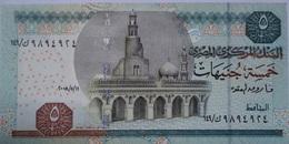 5 Pounds Egypt 2008 UNC-- OKDA (Egypte) (Egitto) (Ägypten) (Egipto) (Egypten)  Africa - Egitto