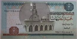 5 Pounds Egypt 2009 UNC-- OKDA (Egypte) (Egitto) (Ägypten) (Egipto) (Egypten)  Africa - Egitto