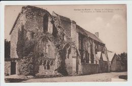 CERISY LA FORET - MANCHE - RUINES DE L'ADDITION - LA CHAPELLE DE L'ABBE - France