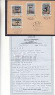 Estonie - Russie - Carte Postale De 1941 Avec Timbres émission Locale D'Elva - Oblit Elva - Avec Certificat - Très Rare - Estonia
