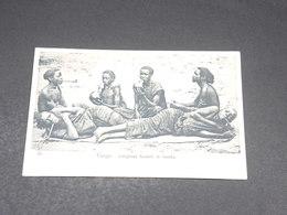 CONGO - Carte Postale  - Indigènes Fumant Le Liamba - L 19491 - Congo Français - Autres