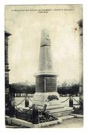 CALVADOS 14 CAUMONT L'EVENTE Le Monument Aux Morts Coté Sud - France