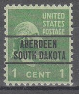 USA Precancel Vorausentwertung Preo, Locals South Dakota, Aberdeen 263 - Vereinigte Staaten