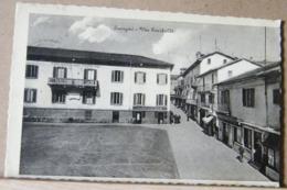 CUORGNE'  VIA GARIBALDI, ANIMATA VIAGGIATA 1943 - Altre Città