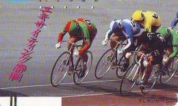 Télécarte Cyclisme (1391) RADFAHREN VELO FAHRRAD RADSPORT WIELRENNEN Cycling Phonecard Japan  290-0477 - Sport