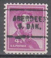 USA Precancel Vorausentwertung Preo, Locals South Dakota, Aberdeen 703 - Vereinigte Staaten