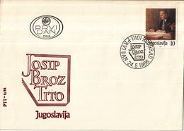 Joegoslavië - FDC 04-05-1986 - 94. Geburtstag Von Josip Broz Tito - M 2170 - FDC