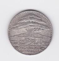 25 Piastres  1936 TTB - Lebanon