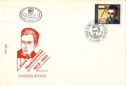 Joegoslavië - FDC 02-04-1987 - 75. Geburtstag Von Kole Nedelkovski - M 2216 - FDC