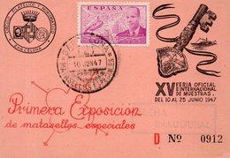 CARTE POSTALE.BARCELONA.XV FERIA DE MUESTRAS 1947. Achat Immédiat - Barcelona