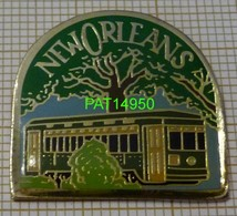 TRAIN TRAM TRAMWAY De NEW ORLEANS USA - Transportation