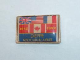 Pin's DEBARQUEMENT A DIEPPE, ASSOCIATION JUBILEE - Army