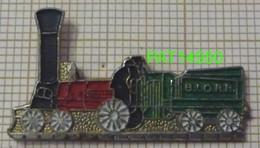 TRAIN    LOCOMOTIVE à VAPEUR  BLORR - Transportation