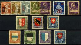 3076-Suiza Nº 189/84, 185/7, 188/91 - Nuevos