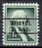 USA Precancel Vorausentwertung Preo, Locals South Dakota, Bristol 743 - Vorausentwertungen
