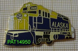 TRAIN  LOCOMOTIVE ALASKA En Version EGF - Transportation