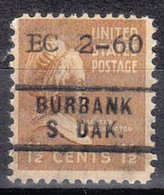 USA Precancel Vorausentwertung Preo, Locals South Dakota, Burbank 729, Dated - United States