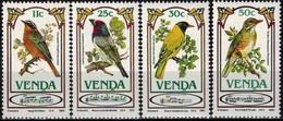 MDB-BK10-042-3 MINT ¤ VENDA 1981 4w In Serie ¤ ANIMALS - OISEAUX - BIRDS - PAJAROS - VOGELS - VÖGEL - - Hummingbirds