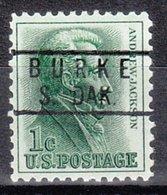 USA Precancel Vorausentwertung Preo, Locals South Dakota, Burke 818 - Vereinigte Staaten