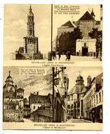 Bruxelles :jadis Et Aujourd'hui 3 Cartes - Monumenten, Gebouwen