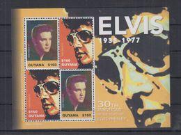 D77. MNH Guyana Famous People  Elvis Presley - Elvis Presley