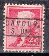 USA Precancel Vorausentwertung Preo, Locals South Dakota, Cavour 801 - Vereinigte Staaten