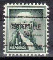 USA Precancel Vorausentwertung Preo, Locals South Dakota, Centerville 704 - Vorausentwertungen