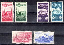 1955; Rotarier-Kongress; 50 Jahre Rotary Int. ; 9. Jahrestag Des Truppenabzuges, Mi-Nr. 653 - 658; Neu * Los 49822 - Syrien