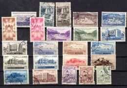 Syrien 1949 - 1956, Diverse Briefmarken Ex Michel 576A - 706, Gestempelt Oder Mit Falz, Ge. Scans, Lot 49826 - Syrien