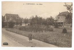Tervuren Les Hôtels Oude Postkaart 1922 Tervueren CPA - Tervuren