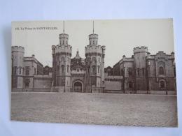 La Prison De Saint-Gilles Gevangenis Circulée 1910 Edition Grand Bazar Anspach BXL - Bagne & Bagnards