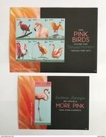 Nevis 2015** Klb.3036-41.+Bl.369. Carribean Flamingos MNH [16;129] - Flamingo