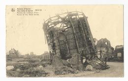 Ieper Watertoren Puinen WW1 Oude Postkaart Ypres CPA - Ieper