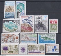 TAAF Année Complète 1991 Timbres-poste N° 155 / 62 Poste-aérienne N° 115 / 18  Sans Charnière, TB - French Southern And Antarctic Territories (TAAF)