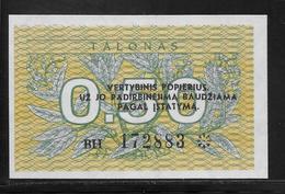 Lituanie - 0,50 Talonas -  Pick N°31b  - NEUF - Lituanie