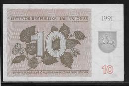 Lituanie - 10 Talonas -  Pick N°35b  - NEUF - Lithuania