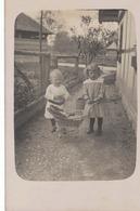 Carte-Photo - Enfants Avec Poussette - Photo Roggwil - Kinder - Sin Clasificación
