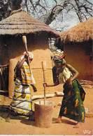 AFRIQUE En COULEURS Préparation Du Repas Preparing The Meal  (Iris 5019 )* PRIX FIXE - Cartes Postales