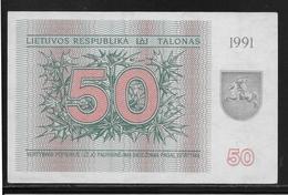 Lituanie - 50 Talonas -  Pick N°37b  - NEUF - Lithuania